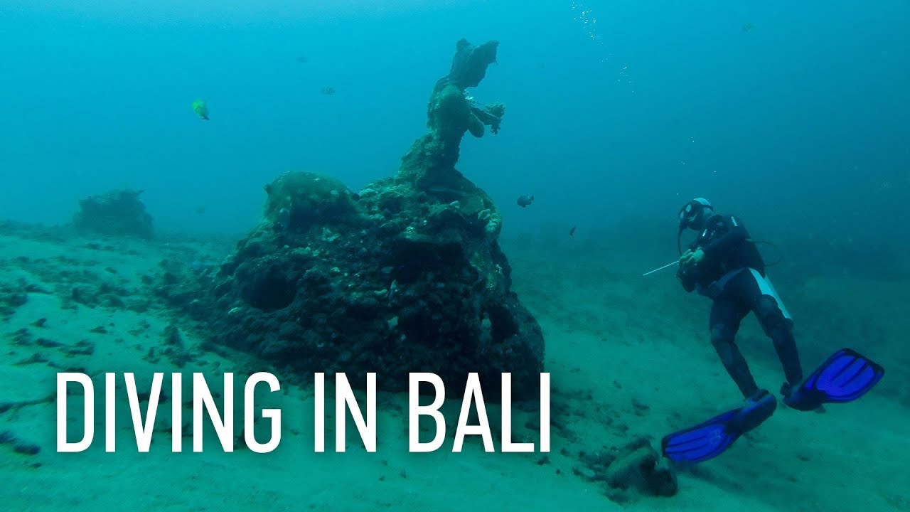 Diving in Bali (Tulamben, Amed) / Дайвинг на Бали (Туламбен, Амед)